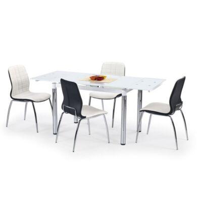 L31-es 110/170 nagyobbítható asztal, fehér