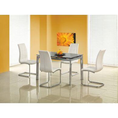 Lambert 120/180 nagyobbítható asztal, fekete
