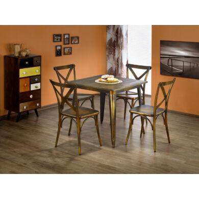 Magnum asztal, arany, négyzetes