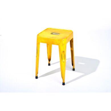 Melange ülőke, sárga, (4 db-os szet)