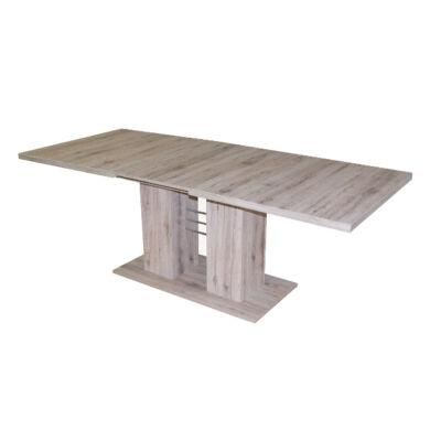 Rio 140/180 nagyobbítható  asztal, világos sanremo tölgy