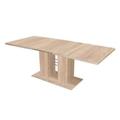 Rio 140/180 nagyobbítható  asztal, sonoma tölgy