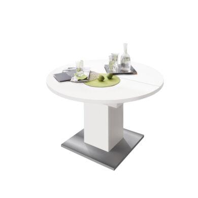 Rund 104/144 szinkronmechanikás asztal, fehér