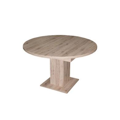 Rund 120/160 szinkronmechanikás asztal, világos sanremo tölgy