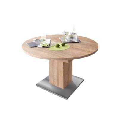 Rund 104/144 szinkronmechanikás asztal, sonoma tölgy