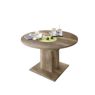 Rund 104/144 szinkronmechanikás asztal, trüffel vadtölgy