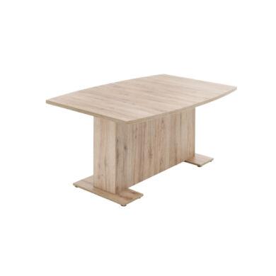 Tonno 160/240  asztal, szinkronmechanikás, világos sanremo tölgy