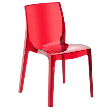 Jewel szék, piros