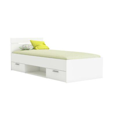Michigan ifjúsági ágy 90x200 cm, fehér